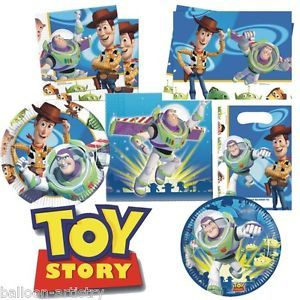 Disney Toy Story Party Items Tableware Decorations All Under One Listing
