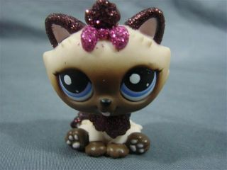 Littlest Pet Shop LPS 2143 Sparkle Glitter Himalayan Kitty Cat