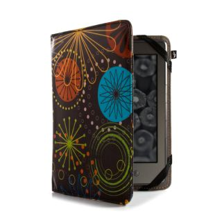 Kindle Paperwhite 3G Leather Style Cover – Fireworks with Lifetime Warranty