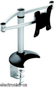 Full Motion Single Swivel Tilting Arm 14'' 18'' LCD Monitor Desk Mount