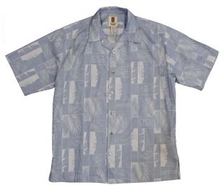 Tori Richard Men's Hawaiian Shirt Medium