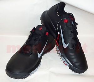 New Nike Golf 2013 Tiger Woods TW'13 Golf Shoes Black Stealth Varsity Red