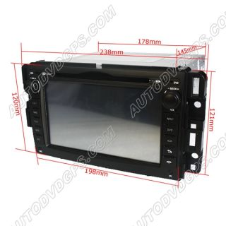 Car DVD GPS Navi Navigation for Chevrolet Buick Saturn GMC Chevy Yukon Sierra