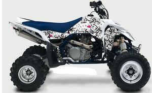 Suzuki Lt R450 Ltr 450 Passion ATV Graphics Kit White
