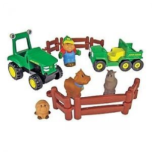 John Deere Farm Fun Playset John Deere Toys Kids Playsets