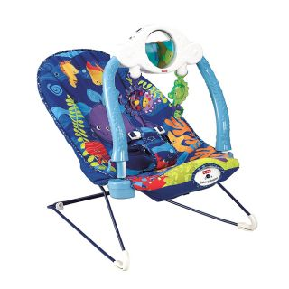 Fisher Price Ocean Wonders Fish Deep Sea Bounce Bouncer Chair Seat New