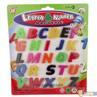 New Arrival Alphabet Numeral Sign Fridge Magnet Baby Kid Educational Toy