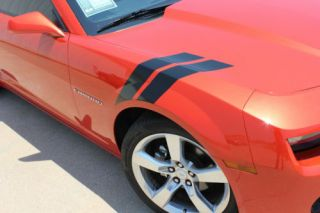 Chevy Camaro Double Bar Graphics Kit EE1795 Decals Trim 2010 2013