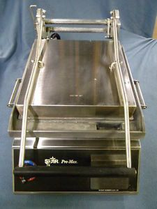 Awesome Commercial Star Pro Max Flat Grill Griddle Panini Press Two Sided GR14