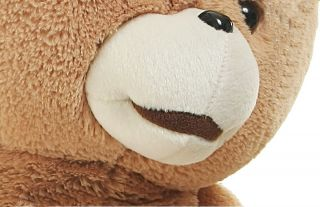 "60cm Eyebrow Teddy Bear Plush Toys Kids Valentine's Day Birthday Gift 23 6"" New"