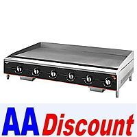 "New Vollrath Heavy Duty Gas Griddle Grill 972GGM 72"" Flat Surface 1"" Thick Plate"