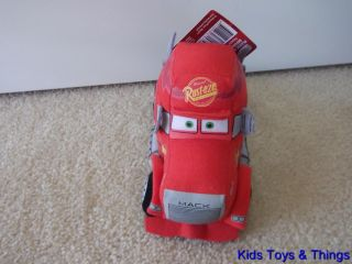 Disney Pixar Cars 2 Mack Truck Plush 21cm Soft Toy BNWT