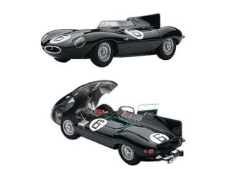Jaguar D Type 6 1955 Le Mans Winner w openings 1 43 Autoart 65586