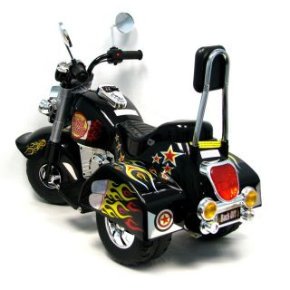 New Childrens Harley Davidson Electric Motorcycle Kids Bike Battery Power Trike