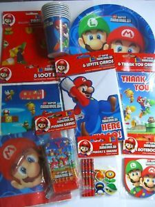 Super Mario Bros Wii Party Range Fixed £1 UK P P