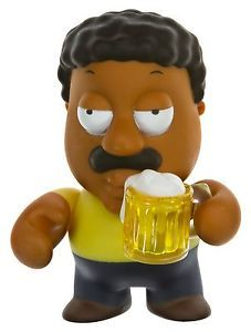 Kidrobot Family Guy Cleveland Vinyl Figure Complete with Accessories