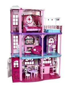 Children Kids Girls Barbie 3 Story Dream House Toys New Clearnace