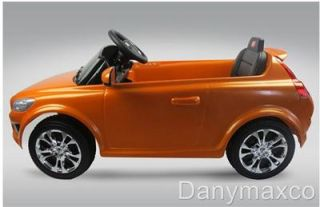 Volvo C30 Baby Kids Ride on Power Wheels Battery Toy Car Orange