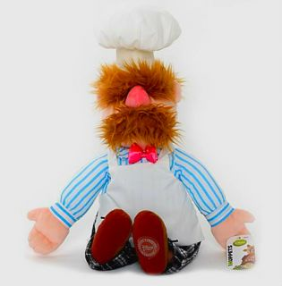 Official Disney Muppets 2012 Swedish Chef Plush Toy Soft Doll New