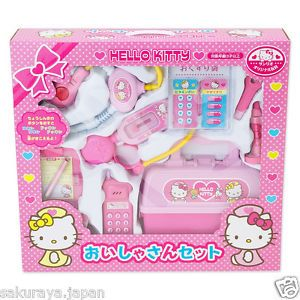 Hello Kitty Hospital Doctor Set Kids Toy Doll House Figure Official Sanrio Japan