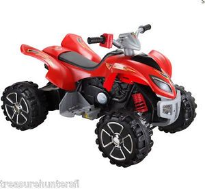 Big Toys 12V Mini Motos ATV 4 Wheeler Quad Ride on Bike Kids Boys Girls Drive