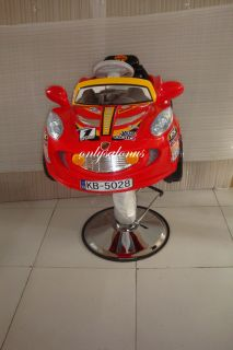 Brand New Child Kid Barber Chair Race Car Styling Kids Beauty Salon Equipment