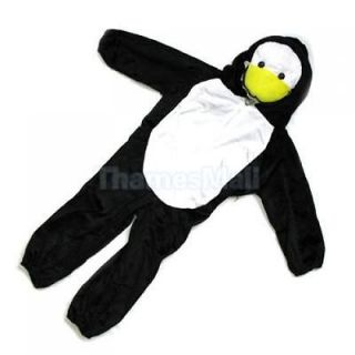 Cute Children Kids Fuzz Duck Clothing Clothes Halloween Party Costume Prop DIY
