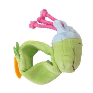 Donkey Shape Infant Kids Baby Wrist Rattle Soft Plush Hand Foot Finders Toy