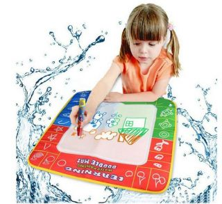 Water Drawing Painting Writing Mat Board Magic Pen Doodle Toy Gift Wholesale