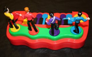 Wiggles Kids Keyboard Electronic Figure Toy Piano Dancing Musical GUC Batteries
