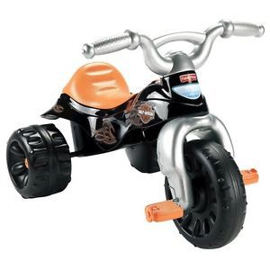 Fisher Price Harley Davidson Motorcycle Trike Boys Ride Toy 3 Wheel Bike Kids