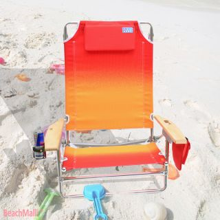 Deluxe Big Kahuna Folding Beach Chair Extra Wide Tall
