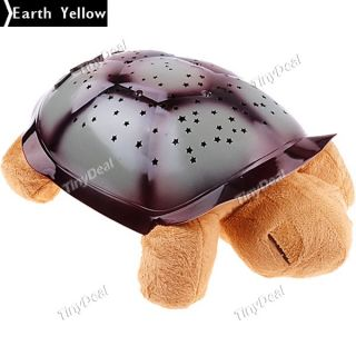 LED Sleeping Music Turtle Star Projector Night Light Lamp Kid Baby Toy Boutique