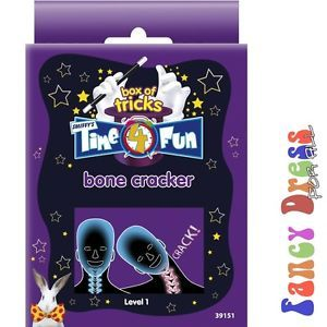 Time 4 Fun Magic Tricks Bone Cracker Joke Novelty Kids Toys