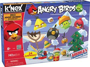 K NEX Angry Bird Christmas Advent Calendar 2013 Building Toys Seasonal Kids Game