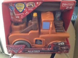 Kids Ride on Toy Fisher Price Disney Pixar Cars 2 Bubble Mater New Trike Toddler