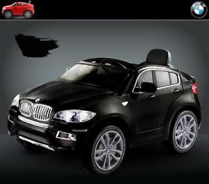 New 2014 Licensed BMW x6 Kids Ride on Power Wheels Battery Toy Car Blackremote