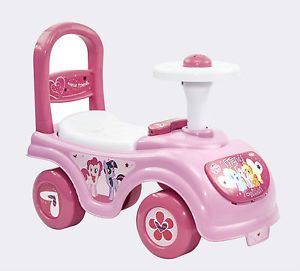 My Little Pony Kids Ride on Car Children Toy Toddlers Pink Baby Walker 12 Months