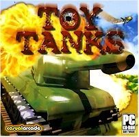 Toy Tanks PC CD ROM Kids War Games Brand New 076714535220