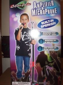 Child Kids Toy Amplifier Microphone Battery Operated Kids Christmas Gift Idea