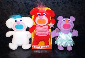X3 Fisher Price Singamajig Lot New Red White Fairy Kids Singing Toys Doll Cute