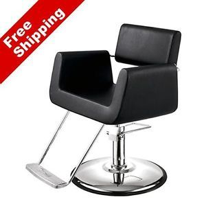 "AGS Beauty New ""Atlas"" Salon Styling Chair Barber Chair Salon Equipment"