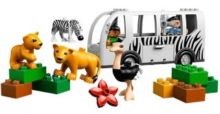 Lego Duplo 10502 Zoo Bus Safari New in Box Toy for Kids