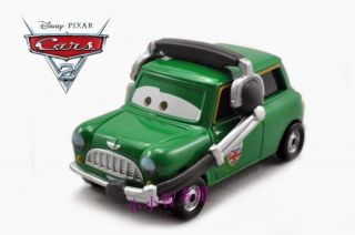 Mattel Disney Pixar Cars Austin Littleton Green Diecast Racer Series Loose