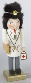 Kurt Adler Christmas Wood Hand Painted RARE Doctor MD Nutcracker J0741D