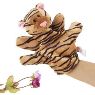Lovely Animal Hand Puppets Kids Preschool Plush Gift Toys Great Bed Story Props