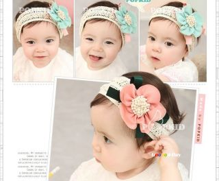 Baby Toddler Kids Girls Princess Headband Hairband Bow Accessories 0 3 2 Years