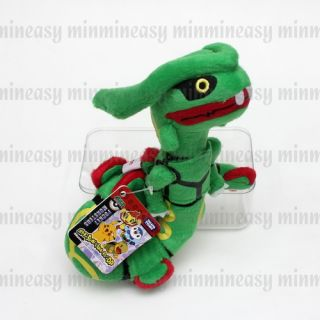 Takara Tomy Pokemon Pikachu Rayquaza Pokedoll Plush Soft Stuffed Toy Doll Figure
