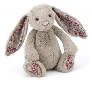 Jellycat Bashful Blossom Bunny Rabbit Soft Plush Toy Stuffed Animal 31cm New