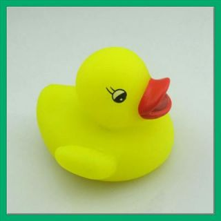 Cute Baby Kids Bath Toy LED Duck Light Lamp Multi Color Flashing